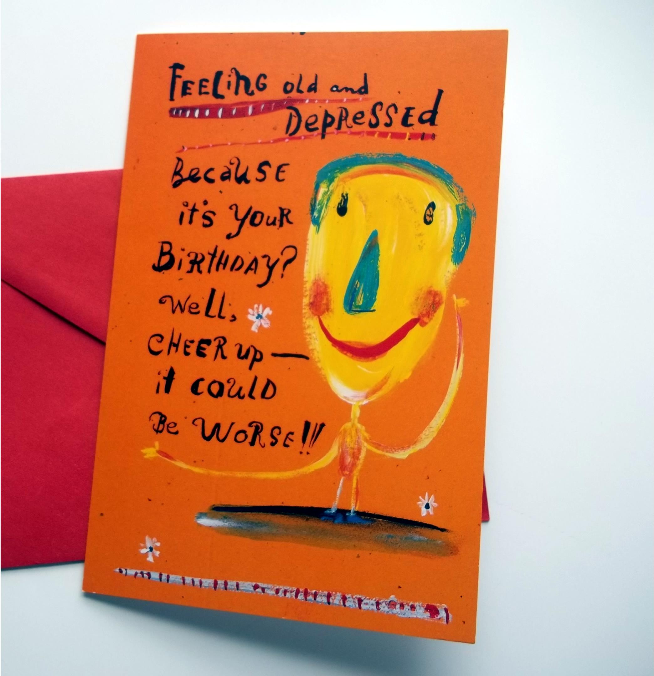 Birthday Card Glitter Bomb – The Best Birthday Card