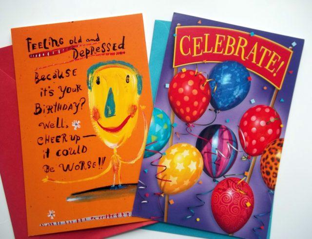 Birthday Card Glitter Bomb Send Glitter Funky Delivery
