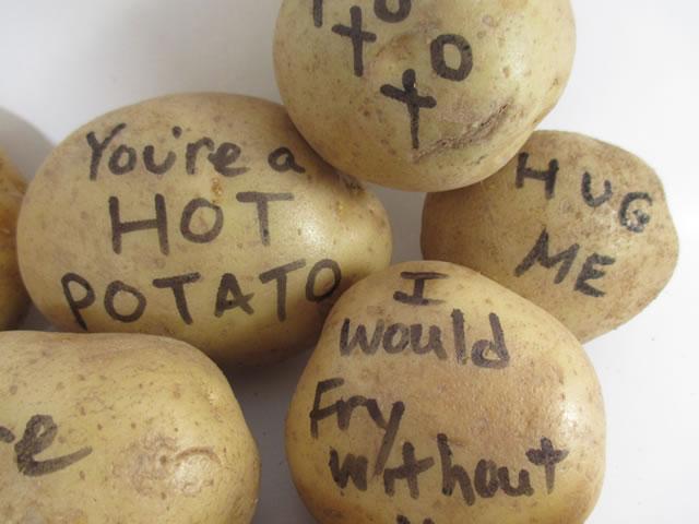 St Patricks Day Potato Bouquet