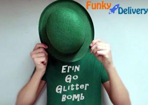Erin Go Glitter Bomb! St. Patrick's Day Green Glitter Bomb