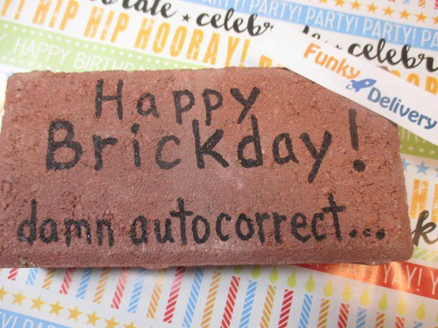 Birthday Brick Send A Birthday Brick From Funky Delivery