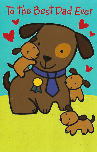 Best Dad Ever Valentineu0027s Day Card   Custom Message