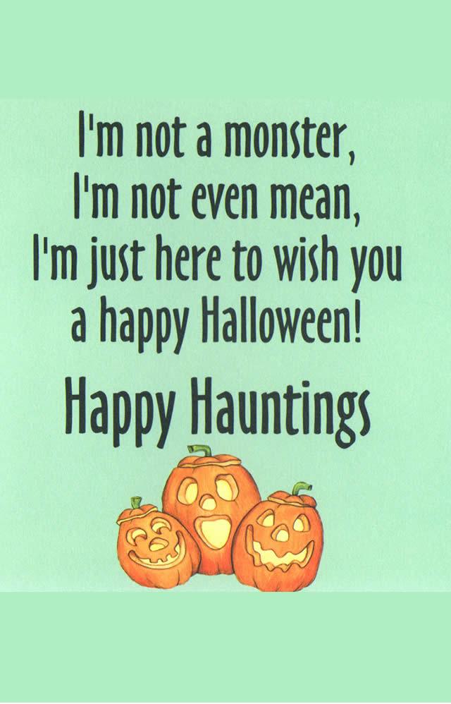 Terrific Happy Hauntings Vampire Halloween Card Glitter Bomb Style Personalised Birthday Cards Cominlily Jamesorg
